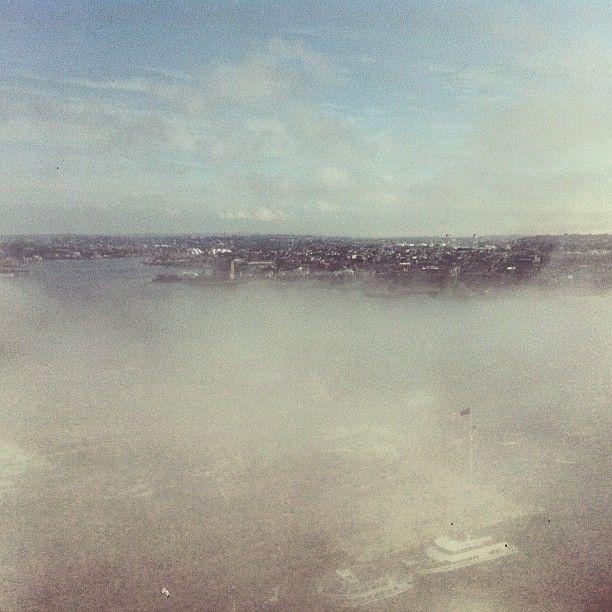 #Good #morning #Boston's #fog
