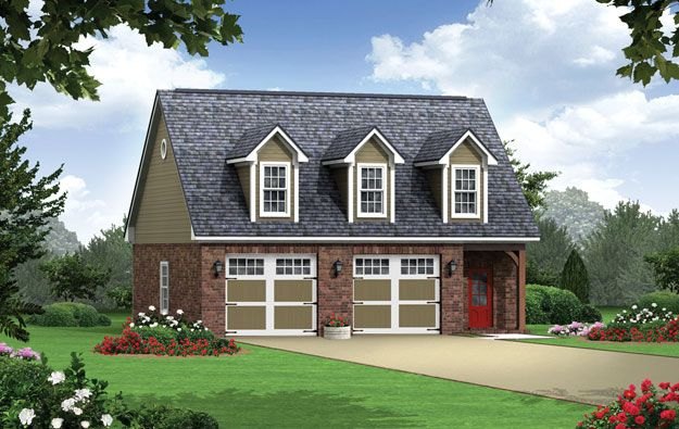 Two car garage on pinterest 100 inspiring ideas to for 2 car garage with living space above plans