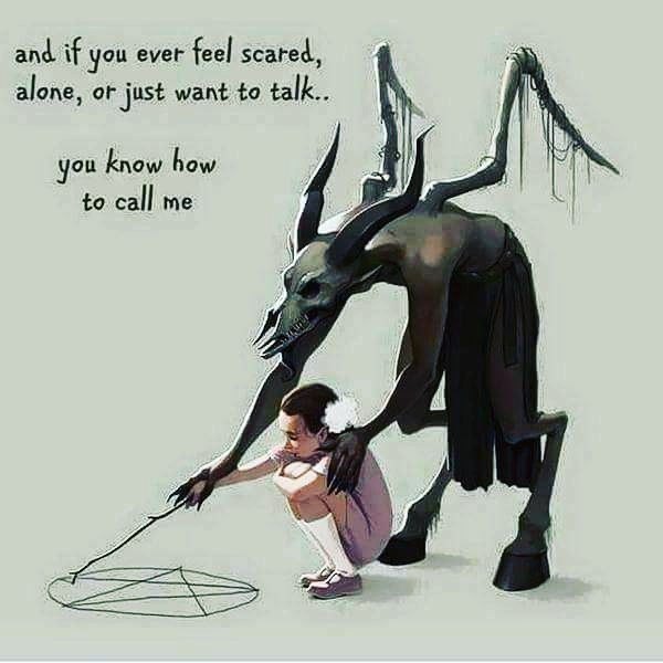 Saw this and couldn't stop smiling. #hellspawn #devilschild