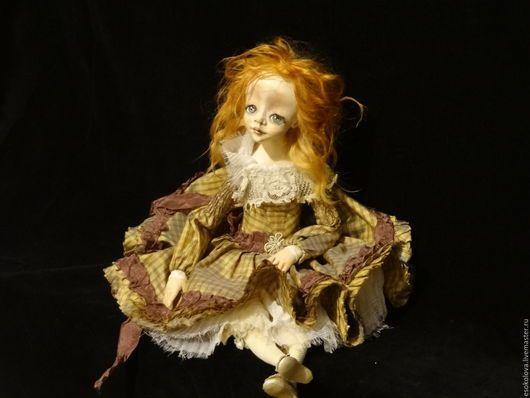 Коллекционные куклы ручной работы. Ярмарка Мастеров - ручная работа. Купить Брук. Handmade. Рыжий, коллекционная игрушка, ребенок, пластик