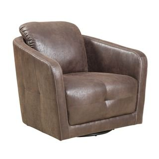 emerald blakely swivel accent chair sable suede look swivel accent chair brown polyester swivel chairliving room