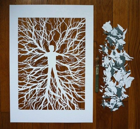 144 best Art: Paper Cutting/Book Art images on Pinterest