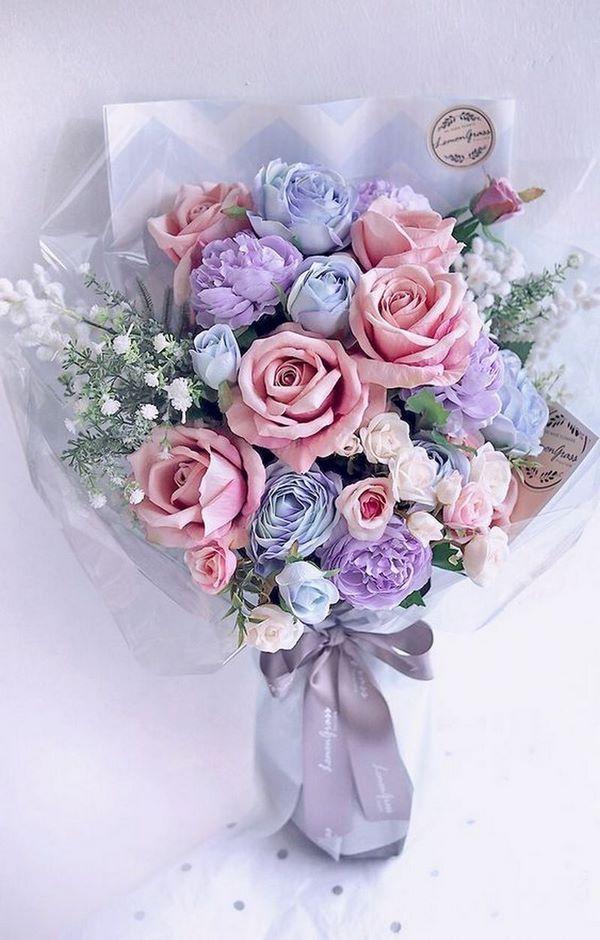 Модные букеты цветов 2021