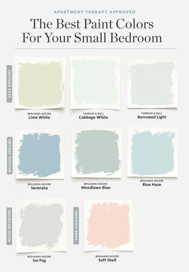 8 Farben, die für ein kleines Schlafzimmer immer funktionieren