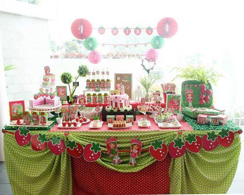 Fiesta Temática de Rosita Fresita - http://fiestas-infantiles.com/fiesta-tematica-de-rosita-fresita/