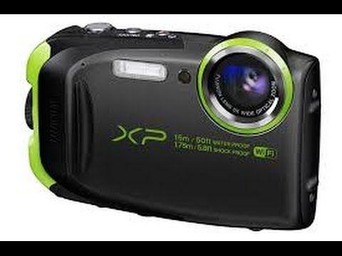 Fuji Finepix XP80 Camera Underwater Test