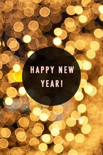 Happy new year to all the event planners out there!
