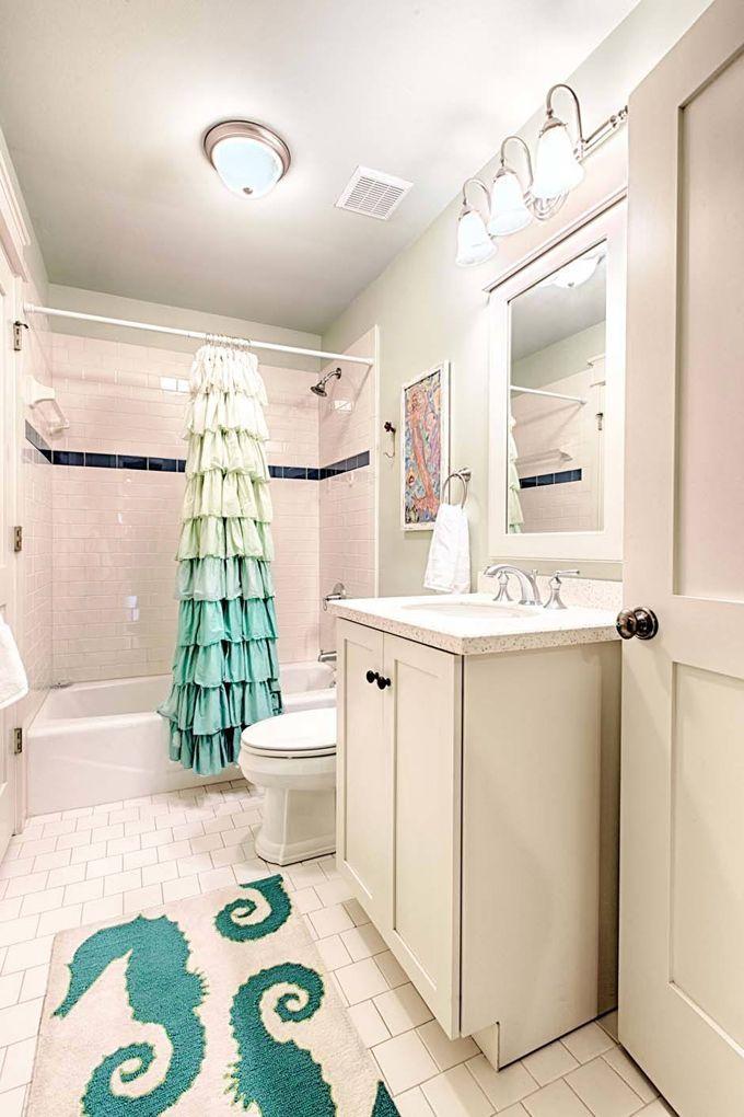 25 best ideas about mermaid shower curtain on pinterest for Mermaid bathroom ideas