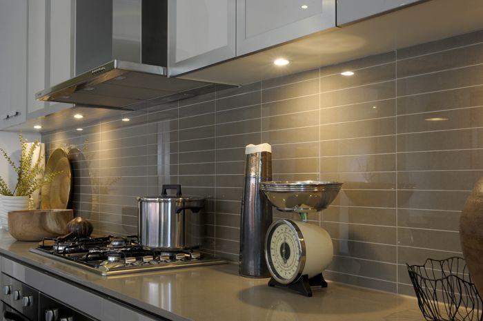 Mocha Splashback And Worktops Indoor Tile Inspiration