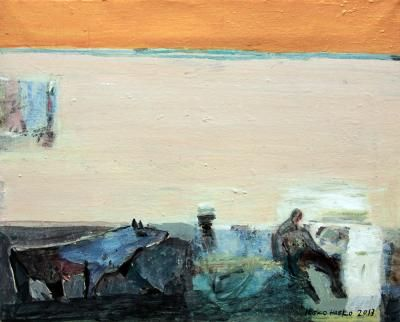 Untitled, 42x52cm, acrylic on canvas