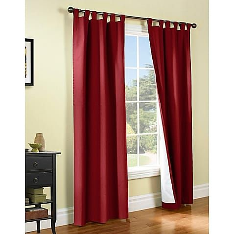 Burgundy Curtains For Living Room | Weathermate Pair Curtain Review