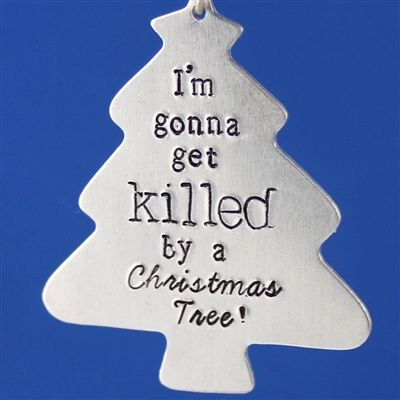 Doctor Who Killer Christmas Tree Ornament - Spiffing Jewelry