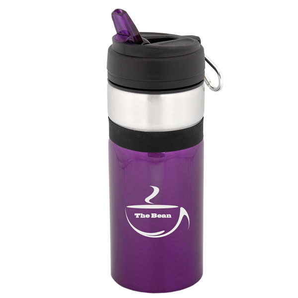 WB4817 - 750 ML. (25 OZ.) WIDE MOUTH ALUMINUM SPORTS BOTTLE - Debco Your Solutions Provider