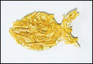 złota rybka/ pasta goldfish