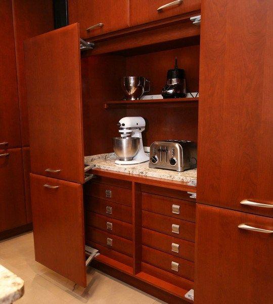 Mini Kitchen Appliances: 1000+ Ideas About Kitchen Appliance Storage On Pinterest