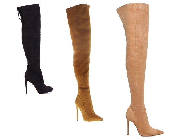 Winter-proof your midis and minis with an OTK boot. You can check out our top 10 thigh-high faves here: http://goo.gl/ic9mpf