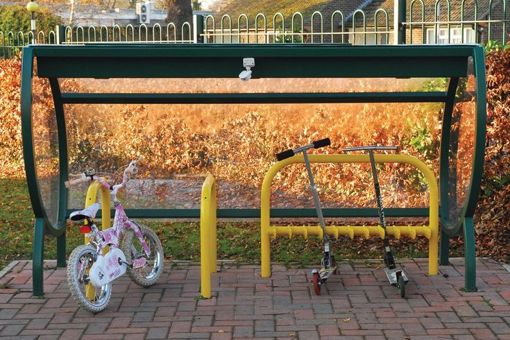 Sofco Junior Cycle Shelter | Cycle Shelter | Broxap