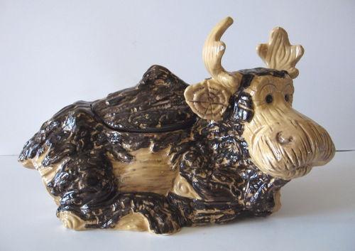 Big Sky Carvers Foresters Moose Cookie Jar 2005 | eBay