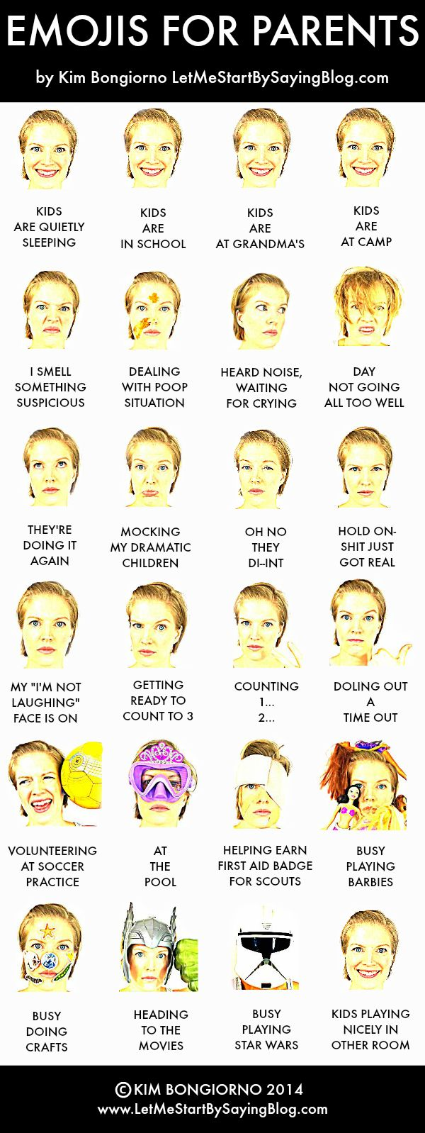 Emojis for Parents by Kim Bongiorno @letmestart