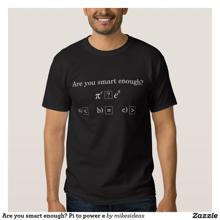 Are you smart enough? Pi to power e Shirts
