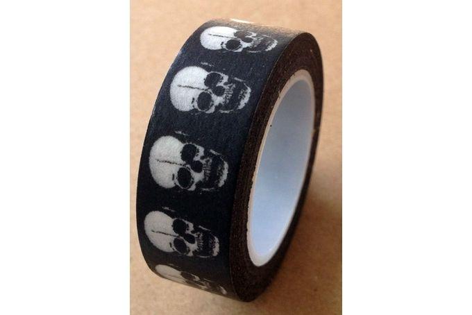 Skull Washi Tape by Sanna se winkel