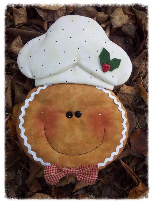 Cartamodelli Gingerbread : Cartamodello presina e manopola ginger pasticcere: