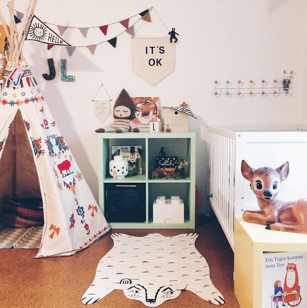 Instagram Inspiration. Cute Kids' Rooms-