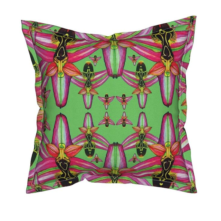 Serama Throw Pillow featuring O.Phrygia by joancaronil   Roostery Home Decor