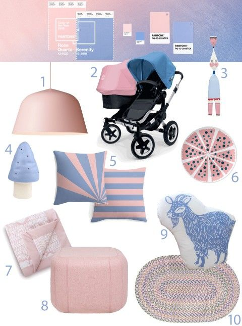 Pantone color of the year 2016 rose quartz and serenity: