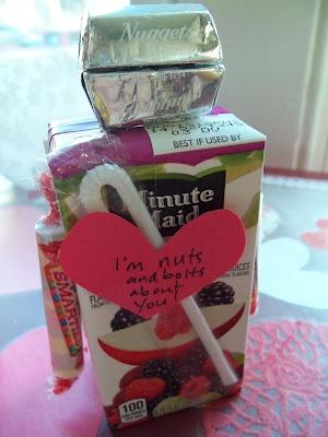 valentine juice box ideas