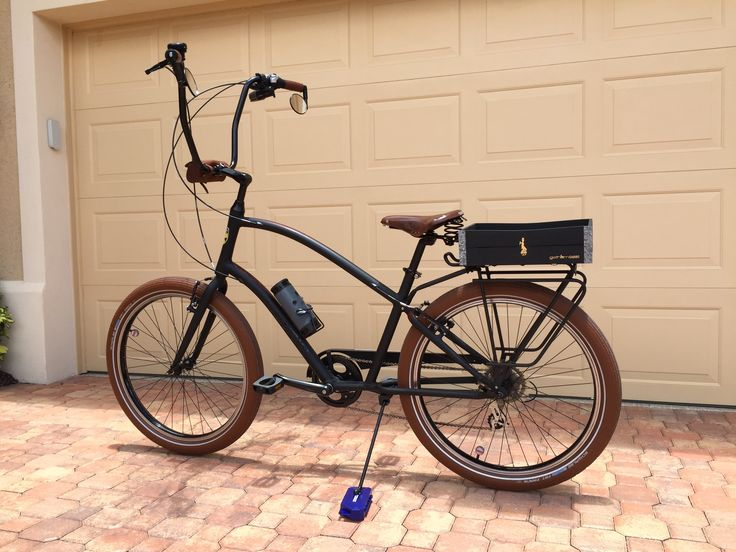 Laurel black bicycle crate, cool bicycle!Thanks Peter