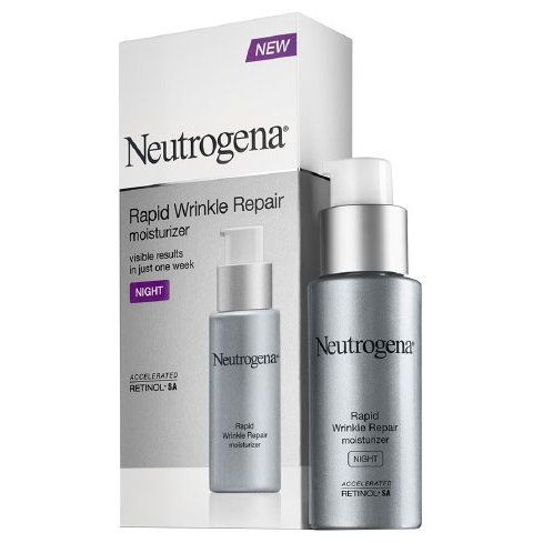 """Neutrogena Rapid Wrinkle Repair Night Moisturizer: Anti-aging creams are often combination products, meaning they pack multiple agents into one age-fighting formula. This night moisturizer from Neutrogenadoes just that. With both retinol and hyper-hydrating hyaluronic acid as its key active ingredients, the cream is a perfect pick for anyone who deals with dryness. """"If you have dry skin, hyaluronic acid is a great ingredient to look out for when buying an anti-aging cream because it really…"""