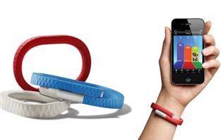 """A pulseira que ajuda a melhorar sua qualidade de vida Por Rodrigo Chiba A JAWBONE desenvolveu a pulseira """"UP"""", que ajuda a melhorar a sua qualidade de vida"""