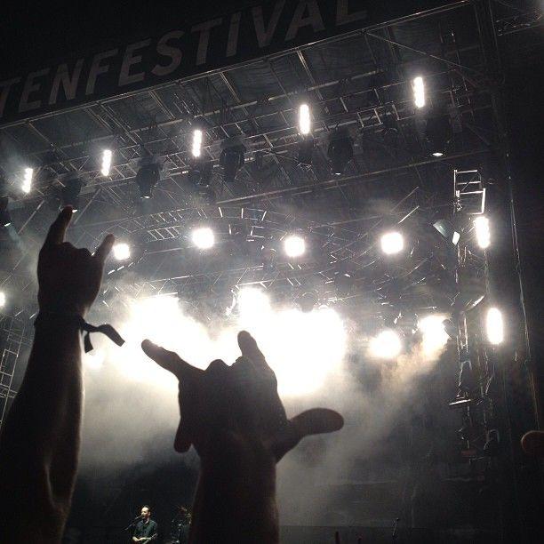 .@bendavid_31 | #gurten #festival #2013 #güsche #music #party #rock #loud #freakingout #volbe...