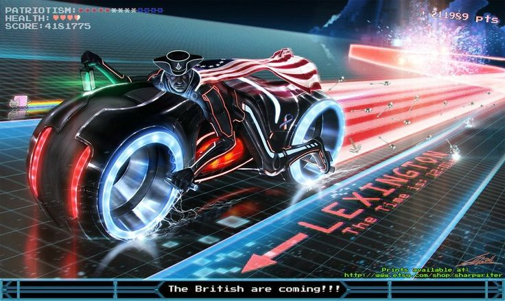 Tron Revere... because 'merica!