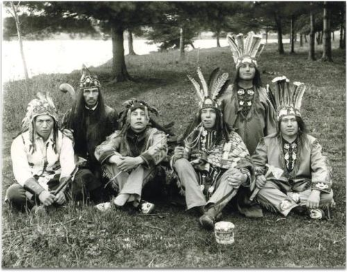 """Mohawk Nation - the Mohawk Indian tribe was one of the original members of the Iroquois Confederation, or Kanonsionni in their own language """"people of the longhouse."""" Description from pinterest.com. I searched for this on bing.com/images"""