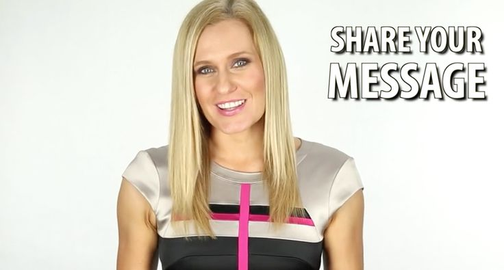 """FREE VIDEO! TV Presenter Shares... """"How To Share Your Message and Attract More Clients Using The Power of Video"""" #video #tashzuvela #message #announcement #excitingnews"""