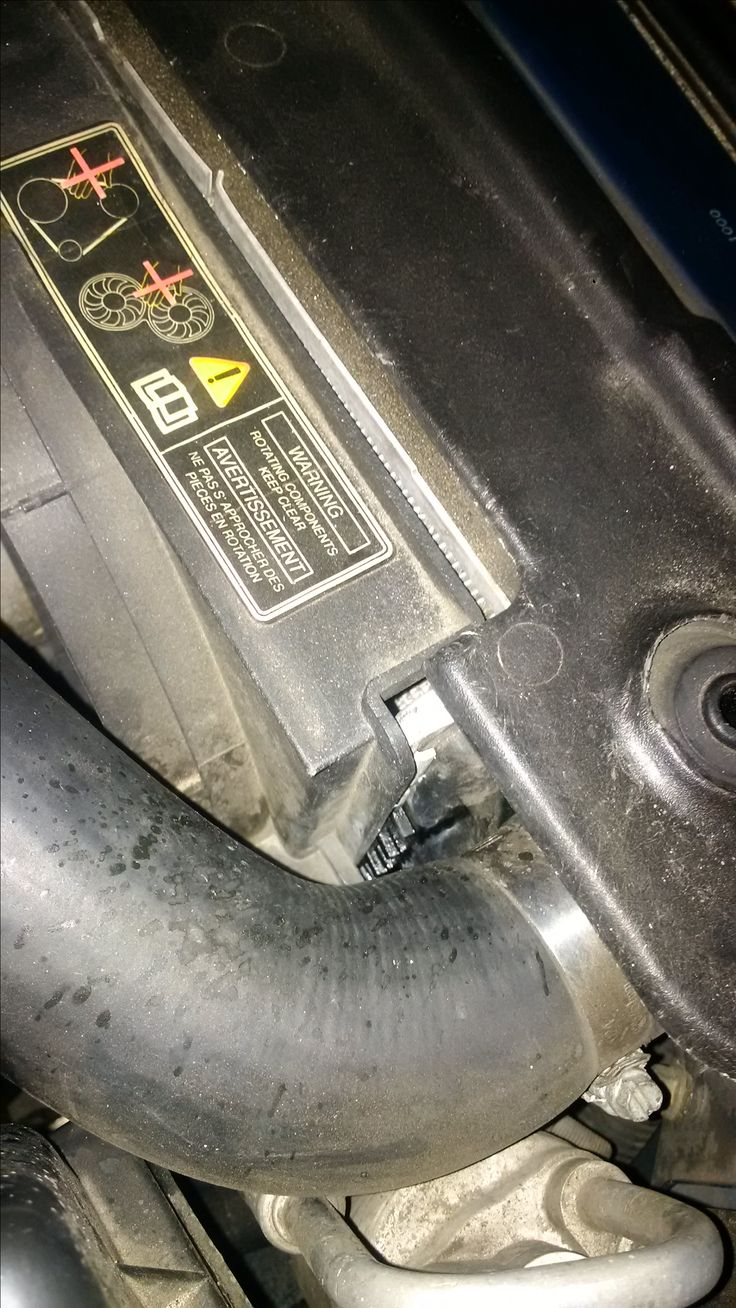 Inspect these parts when the engine is cold signs of wear or deterioration are signs