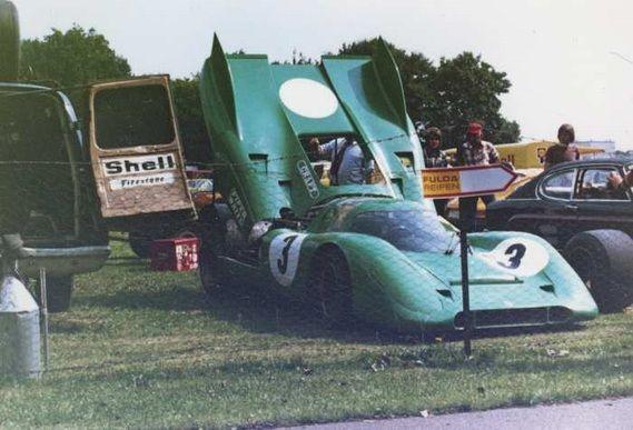 Chris Craft - Porsche 917K - David Piper Racing - 200 Meilen von Nürnberg, Int. ADAC-Norisring-Rennen - Interserie Norisring - 1972 Interserie, round 6