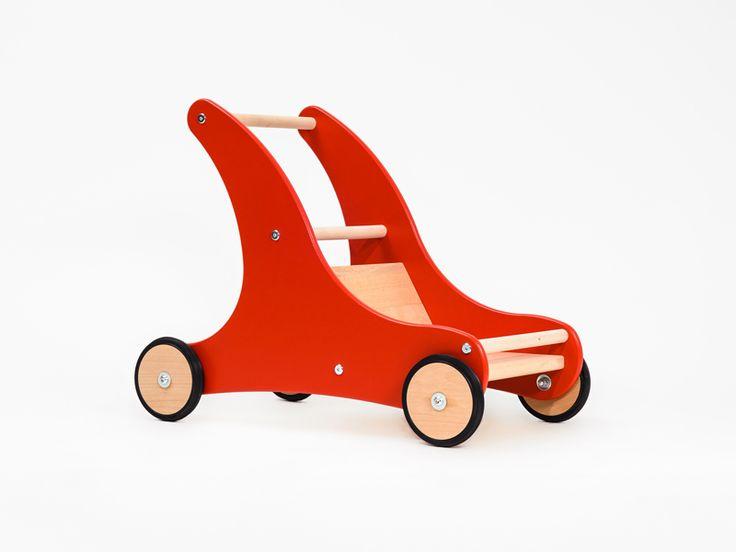 Spielzeugbande Lauflernwagen Sharky Seite Rot