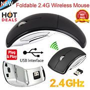 Look what I just bought on eBay: 2.4Ghz Wireless Arc Folding Optical Scroll Wheel Mouse Mice For PC Laptop Black