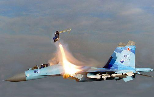 Russian Sukhoi Su-35