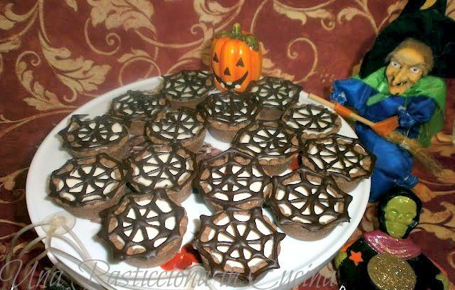 Dolci+Halloween+Ricette+-+Tele+di+Ragno