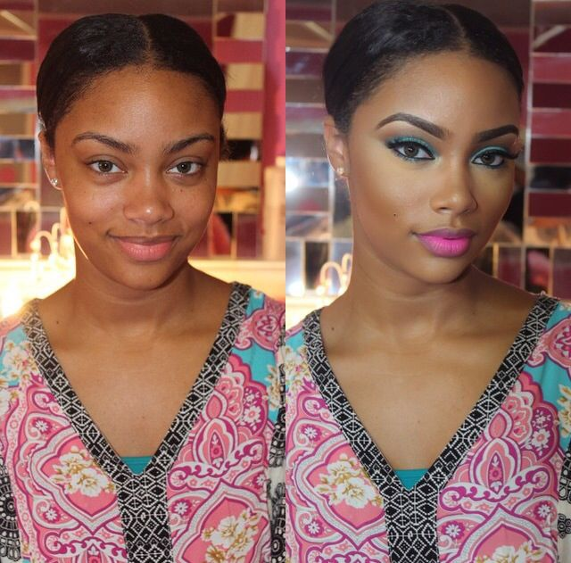Makeup for black women