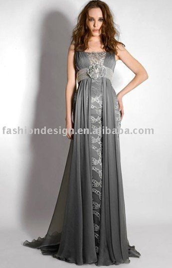 Amazing I like the idea of a silver grey wedding dress