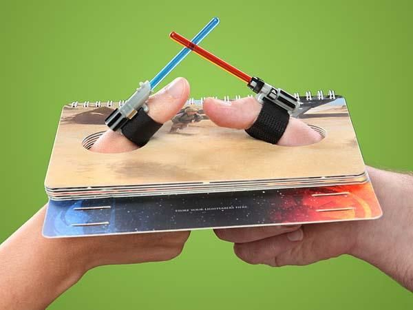 Star Wars Lightsaber Thumb Wrestling Game OH MY GOSH, I WANT IT!!!!!!