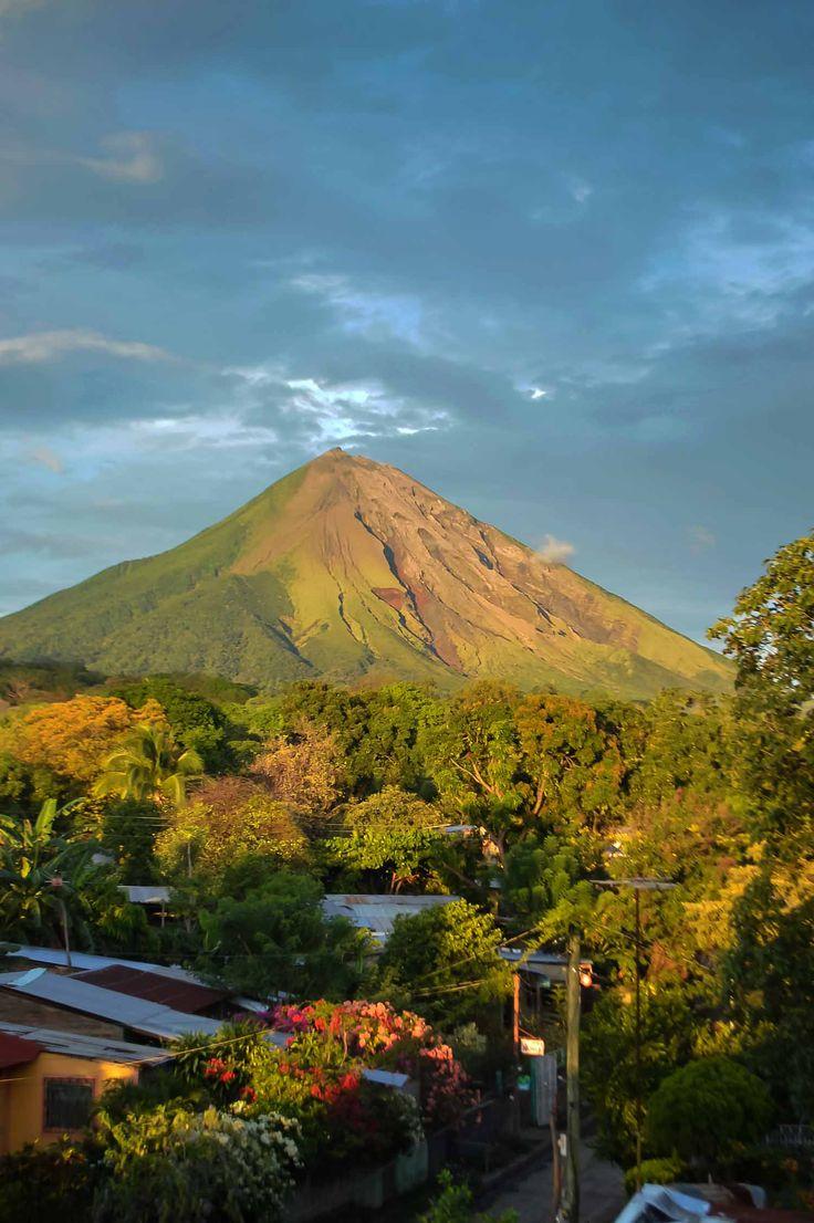 Conception Volcano on Isla de Ometepe in Nicaragua | heneedsfood.com