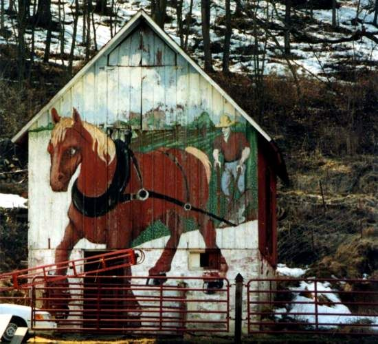 286 Best Painted Barns & Other Out Buildings Images On