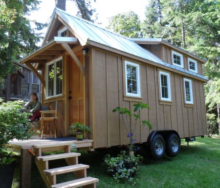 298 Best Images About Tiny House Trailers On Pinterest