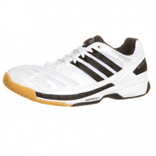 Adidas BT Feather Men's Squash Shoes - White Black